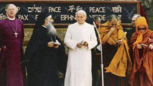 Wspólna modlitwa przedstaicieli 13 religii