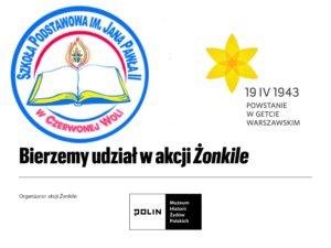 """""""Bierzemy udział w akcji Żonkile"""""""